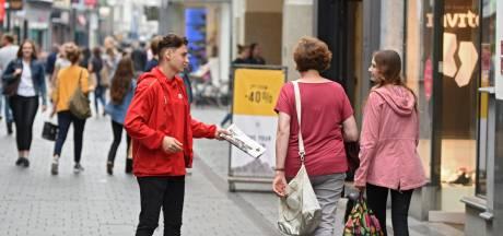 Verkopers en enquêteurs mogen Tilburgers niet meer aanspreken in het centrum en bij winkelcentra