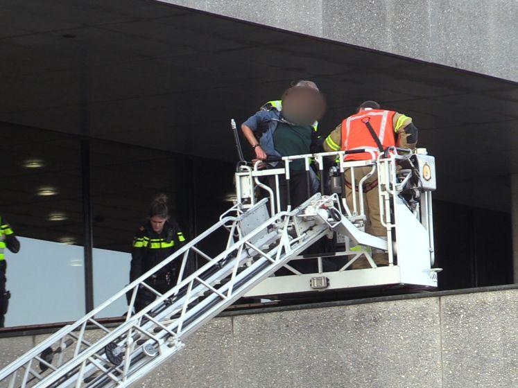 Twee actievoerders aangehouden bij provinciehuis Den Bosch