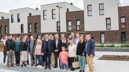 Sociaal nieuwbouwproject met 24 woningen in Kruishoutem afgewerkt