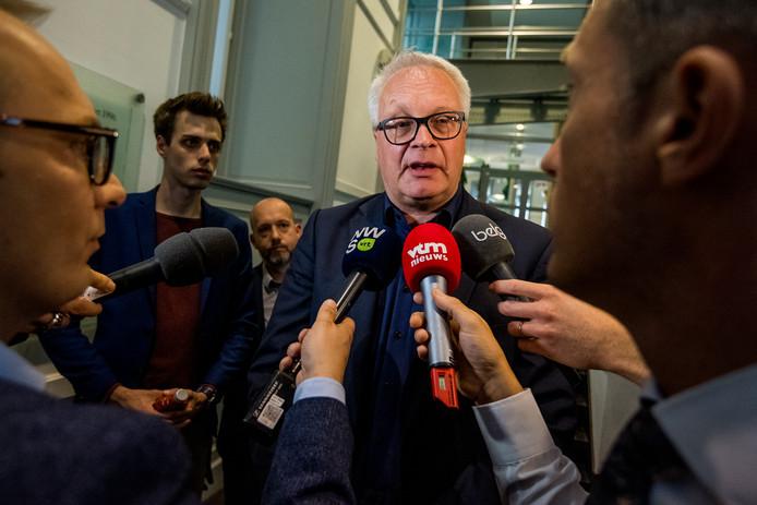 Peter Mertens, président du PVDA -PTB.
