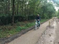 Met nieuwe fietspad krijgt Fietsersbond Haaren 'cadeautje' van gemeente