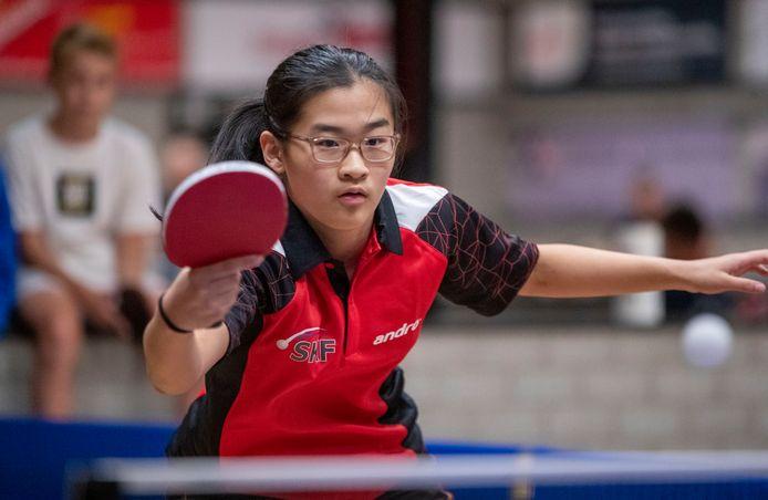 Xijing Zhen tijdens een training bij SKF.