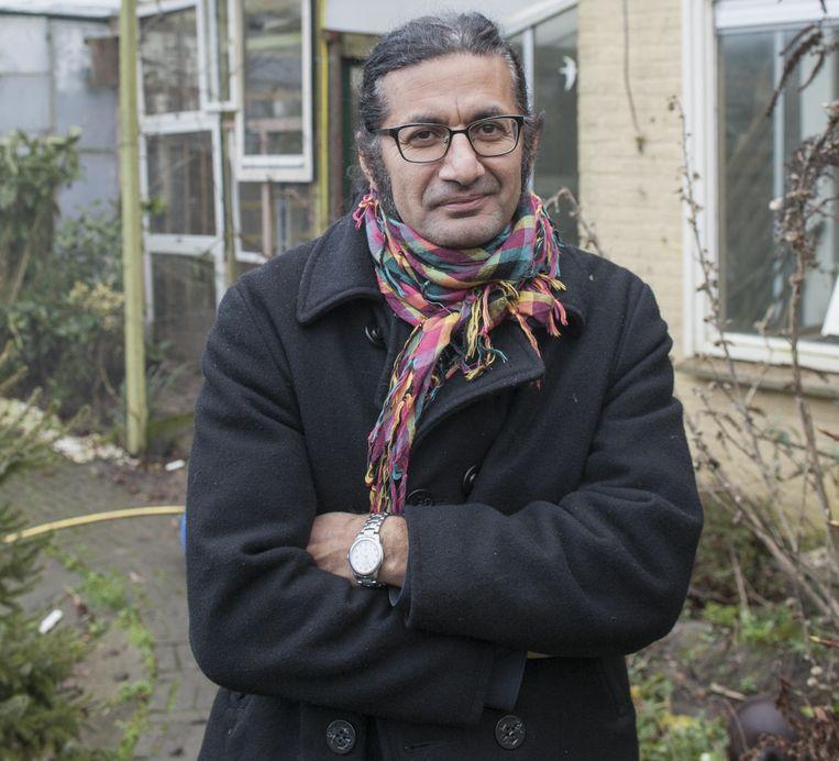 Rodaan Al Galidi, Nederlandse schrijver afkomstig uit Irak. Beeld null
