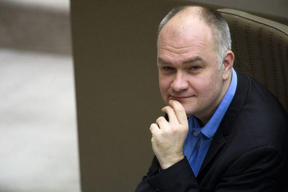 Groen-fractieleider Bjorn Rzoska