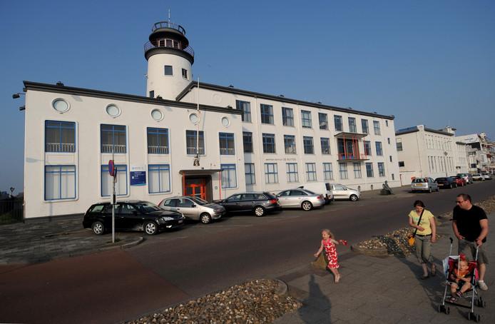 De Zeevaartschool aan de boulevard in Vlissingen.