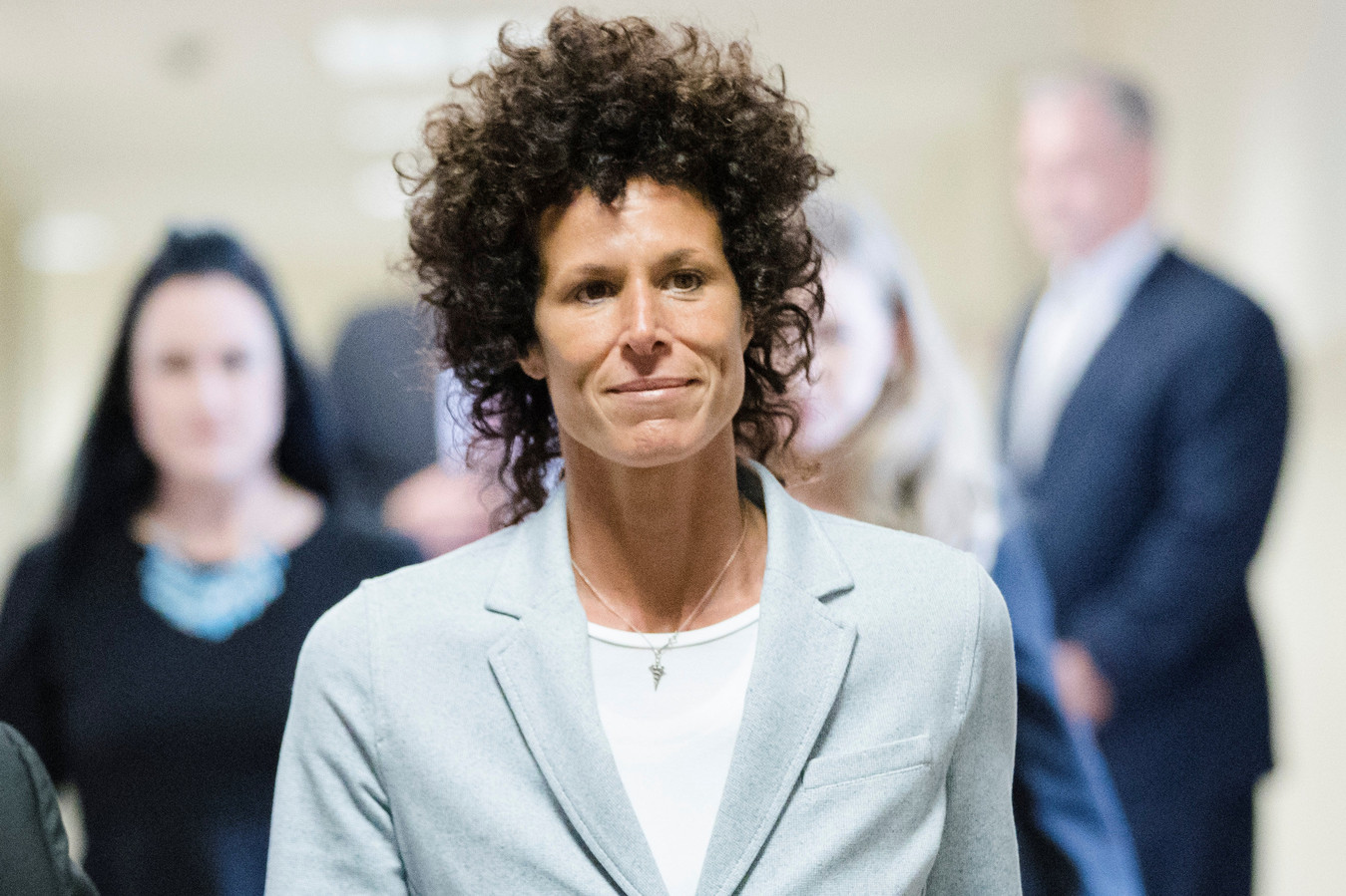 Andrea Constand whose allegations led to Bill Cosbys conviction has declined every interview request Now she talks at length with Kate Snow for