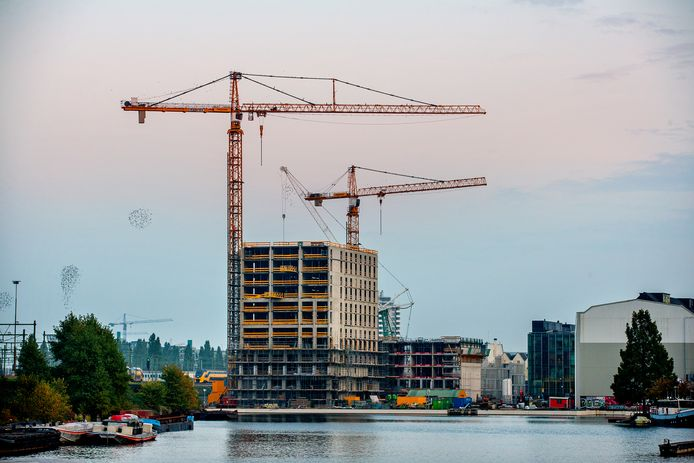 Een nieuwbouwproject in Amsterdam  Fotografie: Jean-Pierre Jans