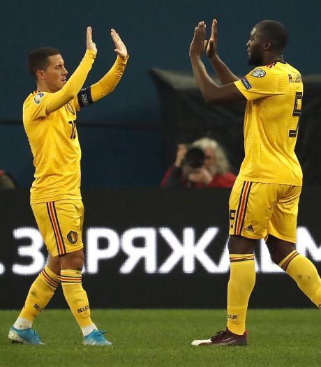 Lukaku absent, Hazard incertain: quel visage offensif pour les Diables contre l'Islande?