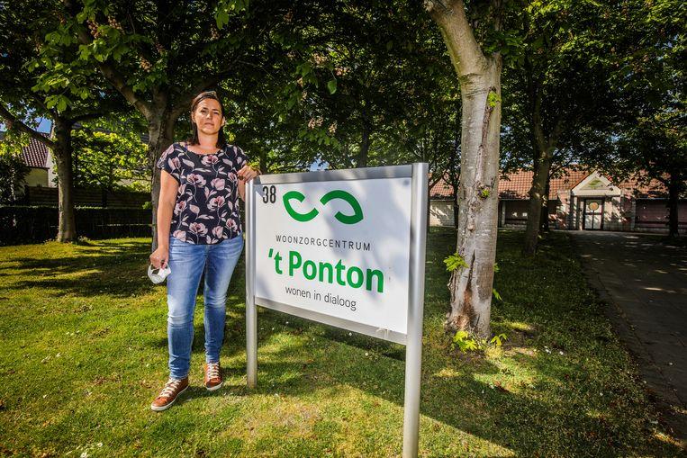 Connie Depotter, directeur van woonzorgcentrum 't Ponton in Oostende.