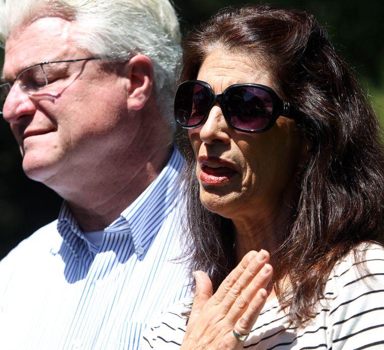 Diana en John Foley, de ouders van de door IS vermoorde journalist, James Foley.