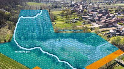 Overstromingszone op Winterbeek moet 40 miljoen liter regenwater bufferen