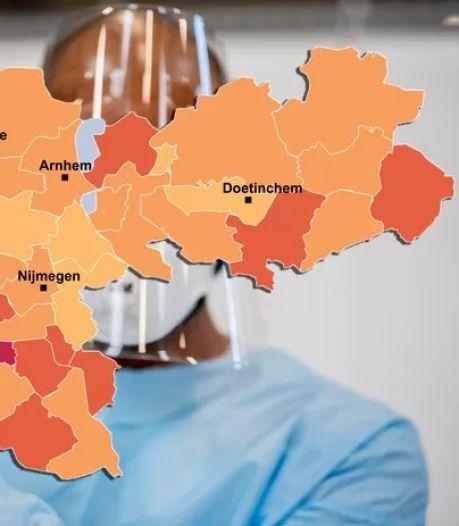 CORONAKAART | Veel sterfgevallen in de Achterhoek, al meer dan half miljoen Nederlanders positief getest: check hier jouw gemeente