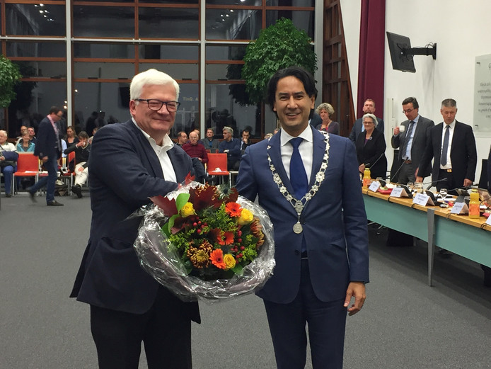Paul van Niftrik is beëdigd als nieuw raadslid voor D66 in Middelburg.