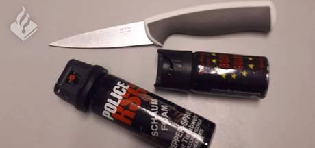 Vrouw trekt mes en pepperspray na ruzie op N18 bij Haaksbergen