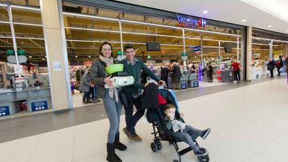 Carrefour opent kleinere supermarkt in shopping één