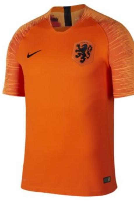 Nieuwe shirt Nederlands elftal bekend