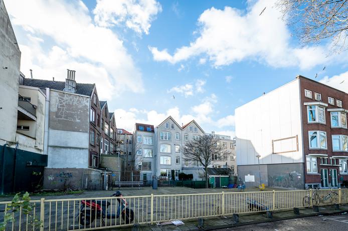 Tweebosbuurt in de Rotterdamse Afrikaanderwijk.