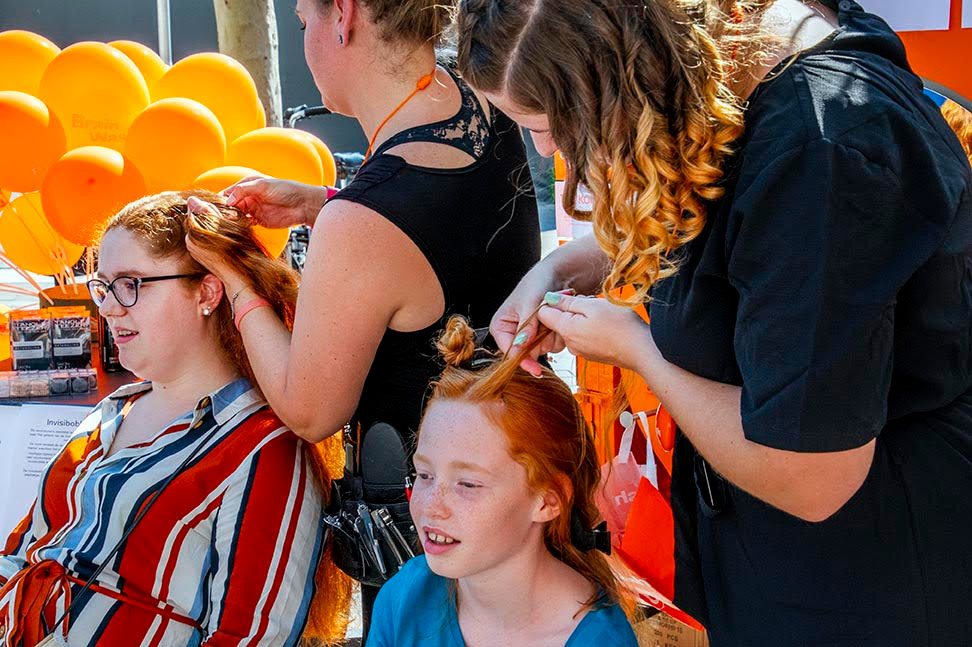 Redhead Day in Tilburg is warm zondag.