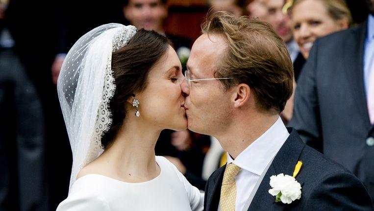 Prins Jaime de Bourbon de Parme en Viktoria Cservenyak.