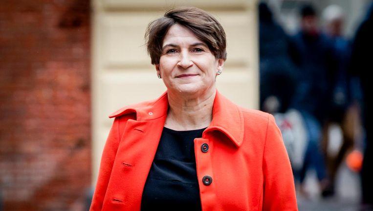 Lilianne Ploumen: 'Nederland wil deze boodschap in ieder geval afgeven ¿ los van wat andere landen ervan vinden' Beeld anp