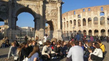 """Leerlingen Sint-Romboutscollege op rondreis door Italië: """"Merken niks van heisa rond coronavirus"""""""