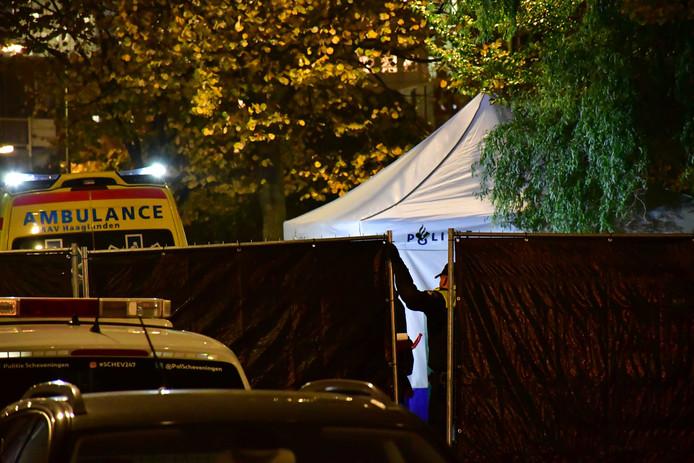 Politieonderzoek in de Jan van Riebeekstraat.
