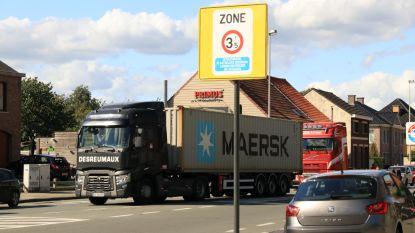 """Stad voert tonnageverbod in rond industriezone E17/2-3: """"Vrachtverkeer uit woonwijken weren"""""""