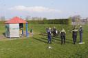 Jongeren in Bunschoten kregen woensdagavond een boete vanwege samenscholing
