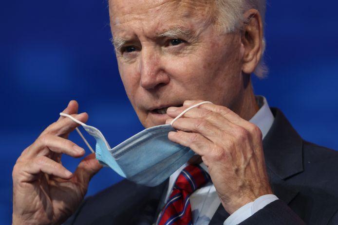 Aankomend president van de Verenigde Staten Joe Biden.