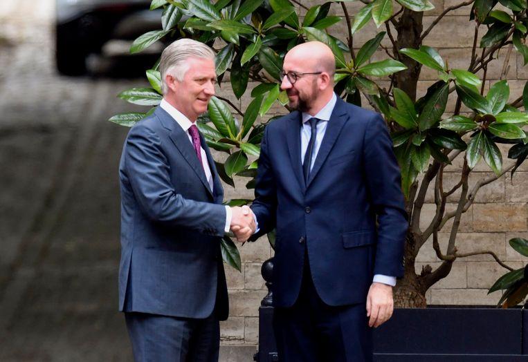 Koning Filip benoemde Charles Michel (hier op archiefbeeld) vandaag tot minister van Staat.