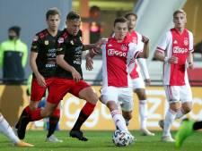 Jong Ajax te sterk voor Excelsior in voorlaatste duel met publiek