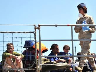 Dit weekend 5000 migranten uit zee gered