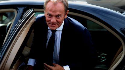 """Onderhandelaars op rand van doorbraak? Tusk: """"Belangrijkste fundamenten van het brexit-akkoord zijn klaar"""""""