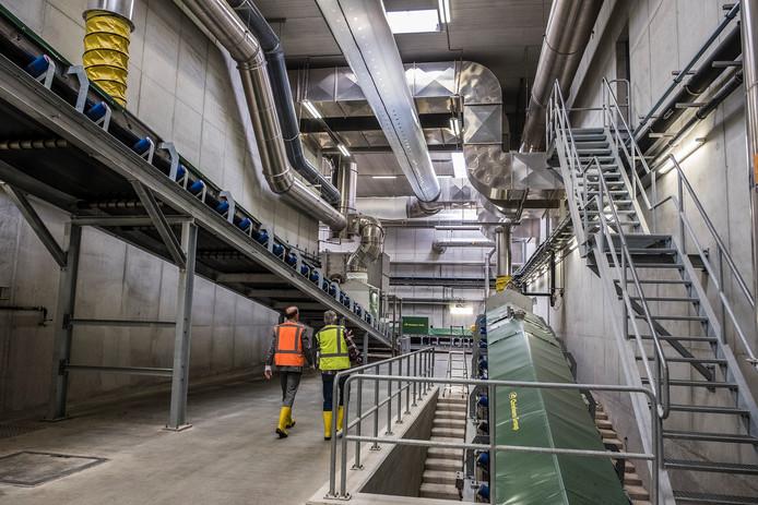 De nieuwe IVC fabriek van CNC in Milsbeek.