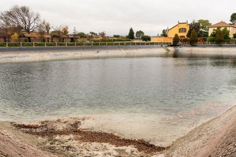 Waterreservoir voor de droge, hete zomers Beeld Eva Faché
