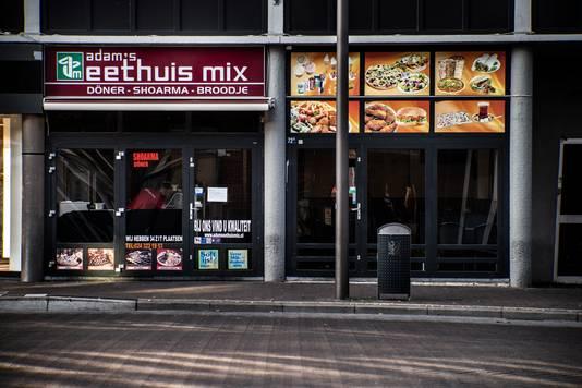 Adam's Eethuis Mix, een van de vier zaken die is gesloten.