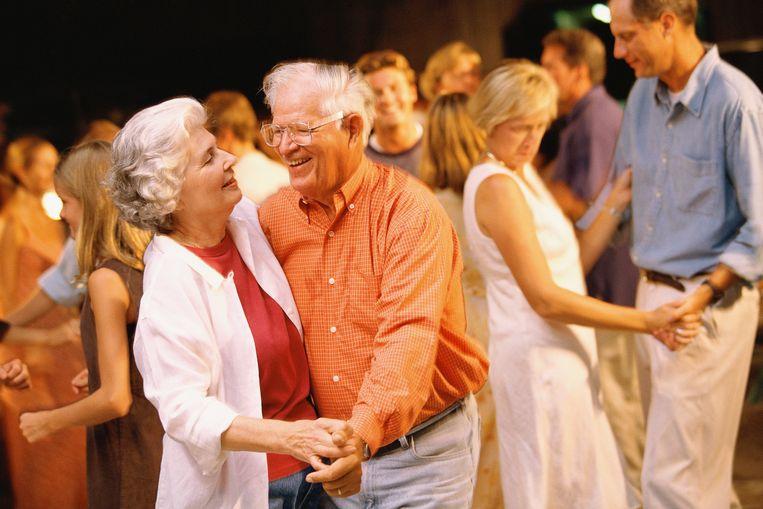 Senioren genieten met volle teugen.