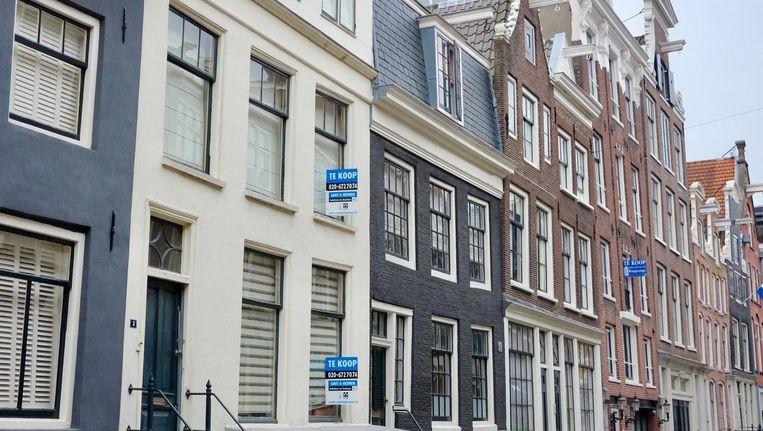 Woningen in de binnenstad van Amsterdam. Beeld Ton Damen