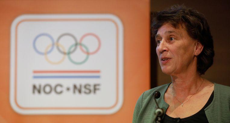 Voorzitter Anneke van Zanen-Nieberg van NOC-NSF.  Beeld ANP