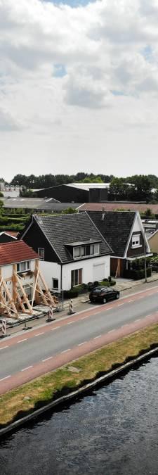 Overijssel wil schade huizendrama kanaal Almelo-De Haandrik verhalen op aannemer