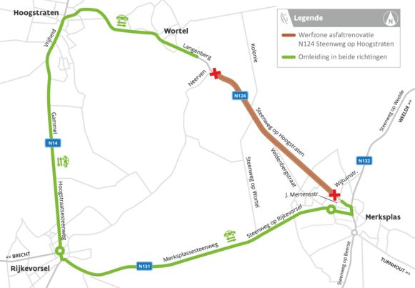 Na de Steenweg op Turnhout vorige maand is het nu de beurt aan de Steenweg op Hoogstraten.