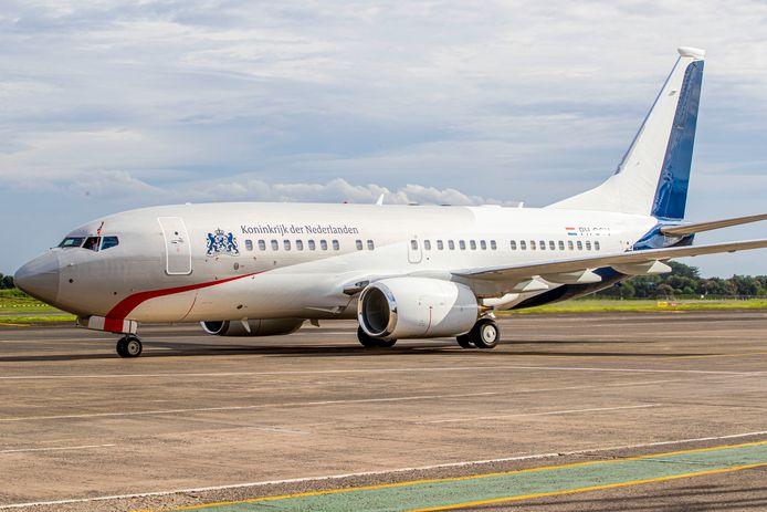Het regeringsvliegtuig, de PH-GOV