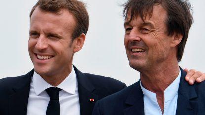 President Macron respecteert ontslag van zijn populaire minister Hulot