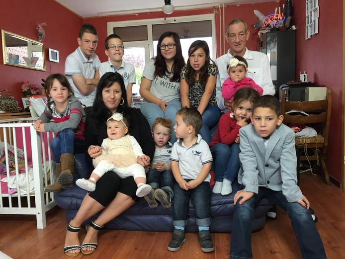 Het gezin Quaedackers was vier jaar geleden te zien in Een Huis Vol. Vader Michel overleed dit jaar op 57-jarige leeftijd.