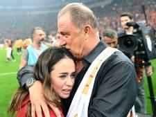 Fatih Terim toont kampioenschap Galatasaray aan via Teletekst