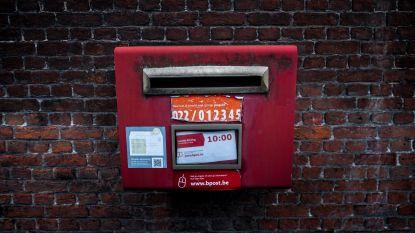 Bpost verwijdert vier rode brievenbussen