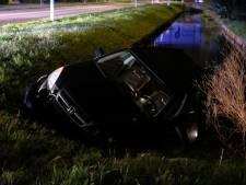 Auto raakte water in Kwintsheul, bestuurder enige tijd onbekend