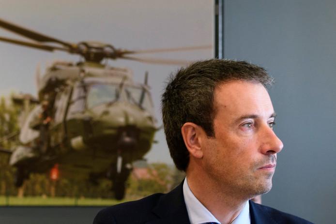Philippe Goffin, ministre de la Défense.