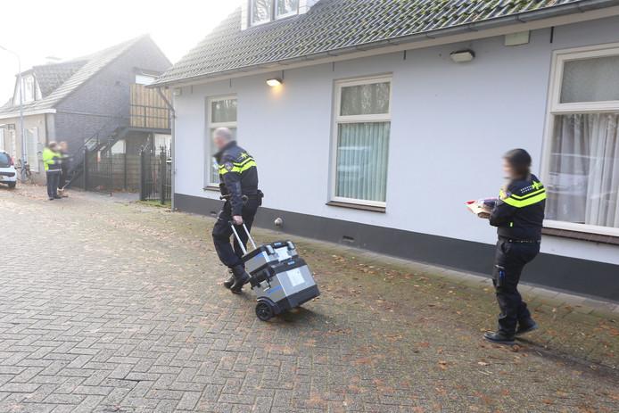 Op Orthen werd een 18-jarige bewoner aangehouden.