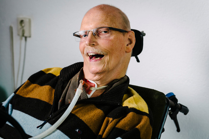 René Vercoutre genoot van het contact met mensen. Zijn stem was de sleutel tot zijn leven.